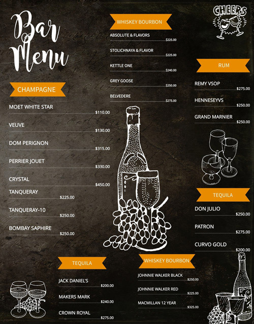 Animerede menuer og visuelle virkemidler